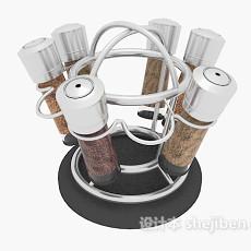厨房调味瓶3d模型下载