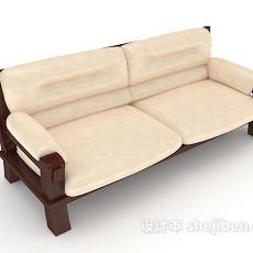 新中式居家沙发3d模型下载