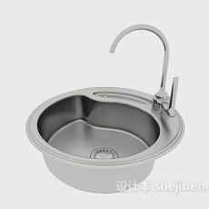 厨房洗碗盘3d模型下载