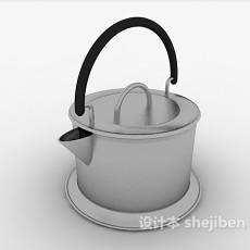 开水烧水壶3d模型下载