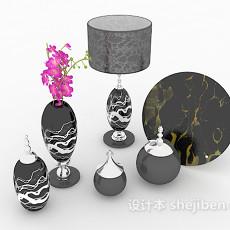 居家简单装饰品3d模型下载