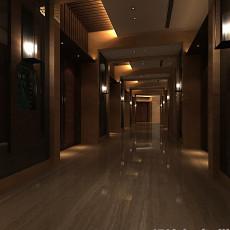 室内电梯走廊3d模型下载