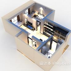 家居样板房3d模型下载