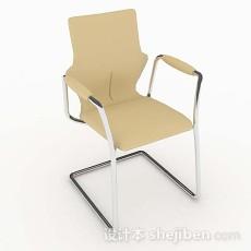 现代黄色简约椅子3d模型下载