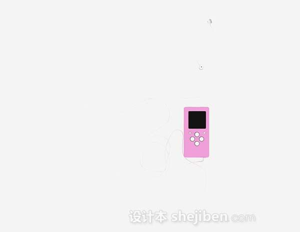 粉红色MP3