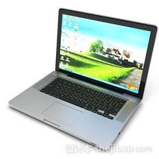 简约笔记本电脑3d模型下载