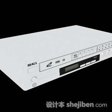 DVD机3d模型下载