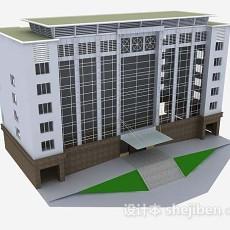 现代大厦3d模型下载