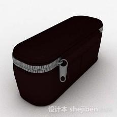 黑色化妆包3d模型下载
