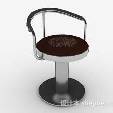 休闲简约椅子3d模型下载
