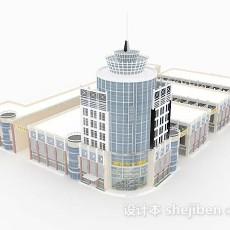 现代标志性建筑3d模型下载