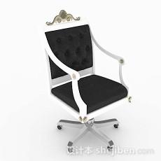 欧式家居休闲椅子3d模型下载