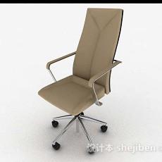 现代简约轮滑式休闲椅3d模型下载