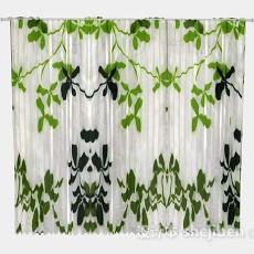 绿色叶子窗帘3d模型下载
