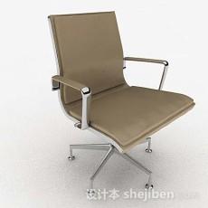 棕色家居休闲椅3d模型下载