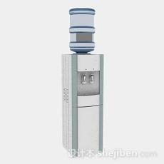 饮水机3d模型下载