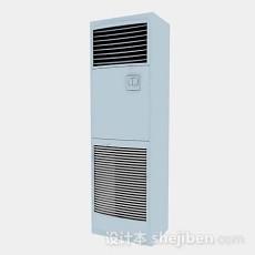 立式空调3d模型下载