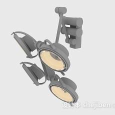射灯3d模型下载