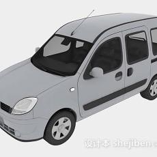 灰色汽车3d模型下载