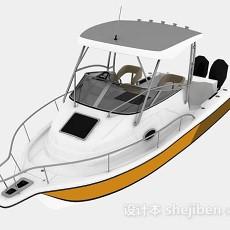 海上小游艇3d模型下载