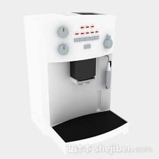 白色雪糕机3d模型下载