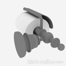 厕纸架3d模型下载