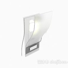 现代个性壁灯3d模型下载