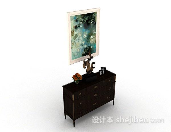 木质装饰厅柜