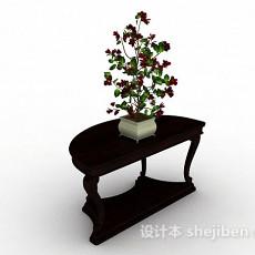 家居室内盆栽3d模型下载