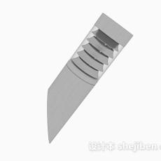 灰色个性壁灯3d模型下载