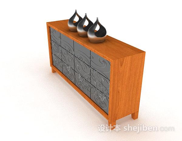 木质个性装饰厅柜