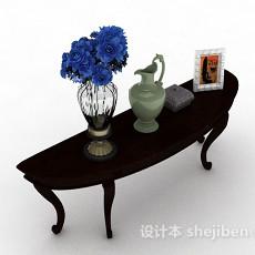 家居装饰室内盆栽花3d模型下载