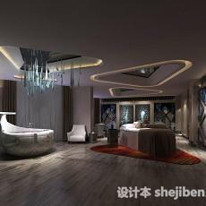 现代大浴室3d模型下载