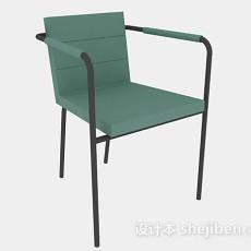 绿色休闲椅3d模型下载