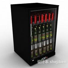 啤酒冰柜3d模型下载