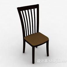 木质家居椅3d模型下载