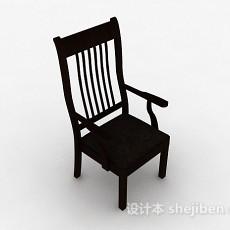 木质家居椅子3d模型下载