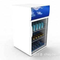 饮料冰柜3d模型下载