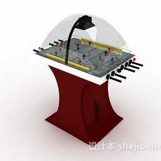 休闲娱乐踢球机3d模型下载