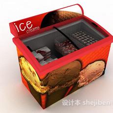 雪糕冰箱3d模型下载