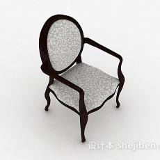 复古家居椅子3d模型下载
