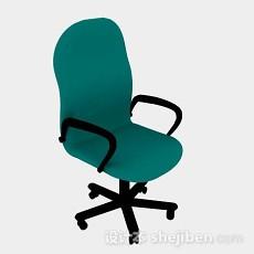 绿色办公椅3d模型下载