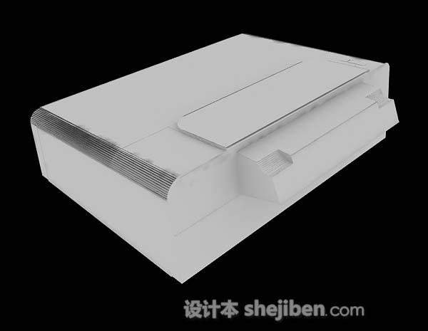 打印机3d模型下载