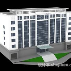 办公大楼3d模型下载