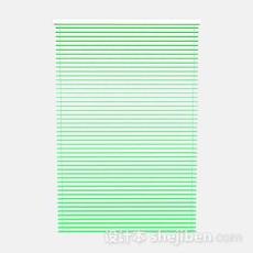 绿色百叶窗帘3d模型下载