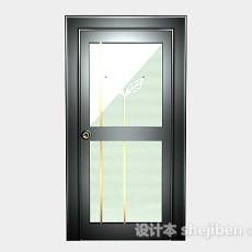 家居木质门3d模型下载