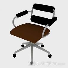 简约办公椅3d模型下载