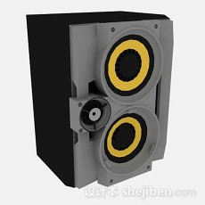 灰色音箱3d模型下载