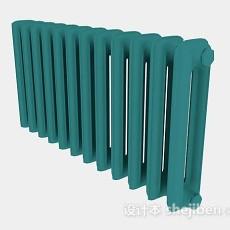 绿色暖气管3d模型下载