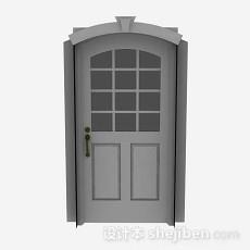 木质家居门3d模型下载